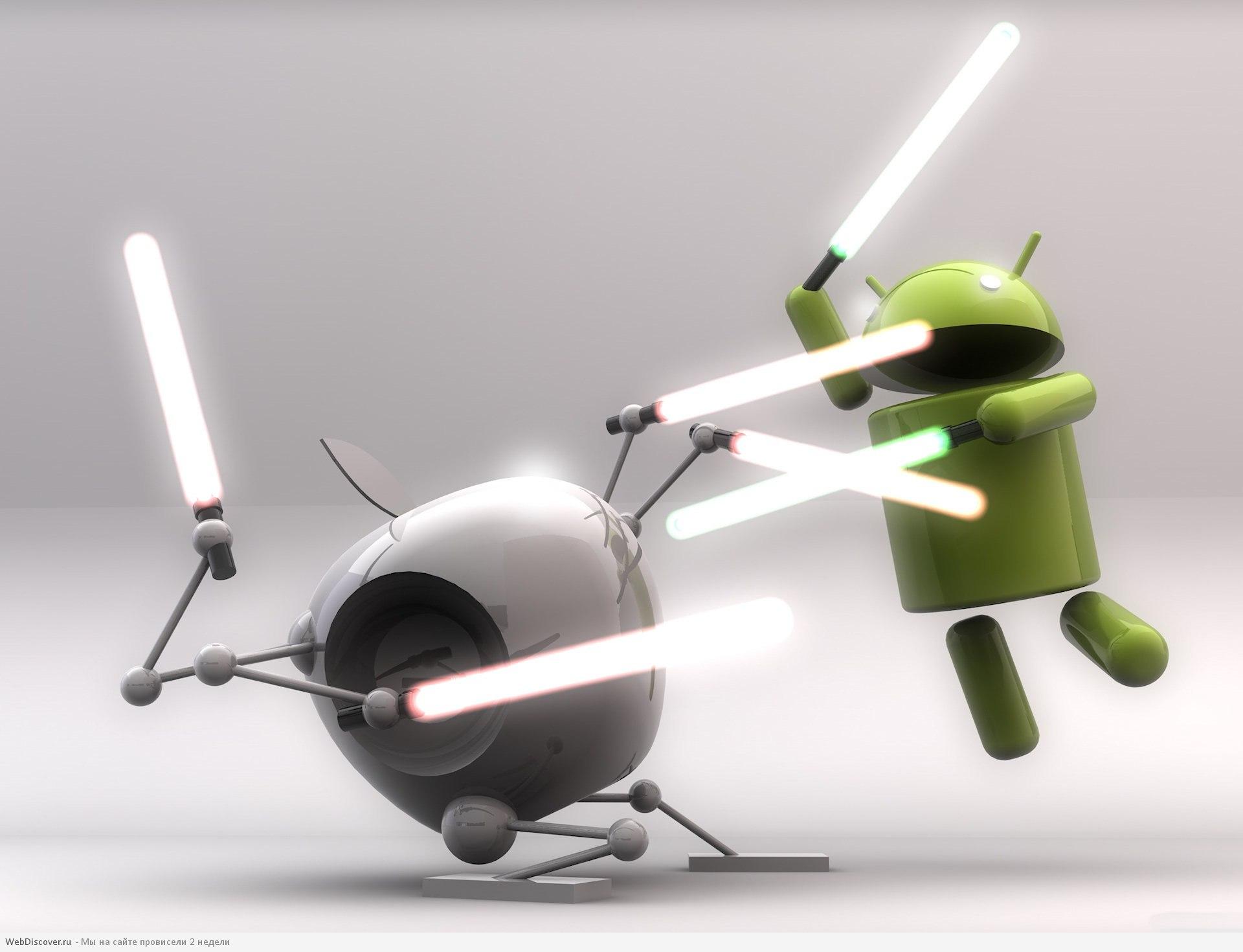 iPhone остается лидером на рынке мобильной рекламы, но доля Android стремительно растет
