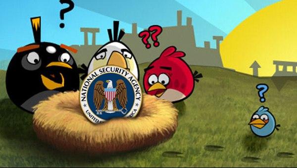 Западные спецслужбы следят за пользователями через Angry Birds