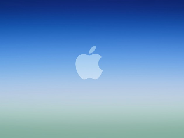 blue-ios-gradient-apple-logowallpaper
