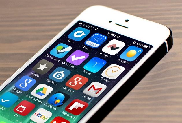 Лучшие приложения с обновленным дизайном в стиле iOS 7
