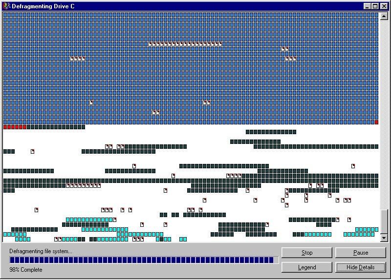 Дефрагментация диска на Mac