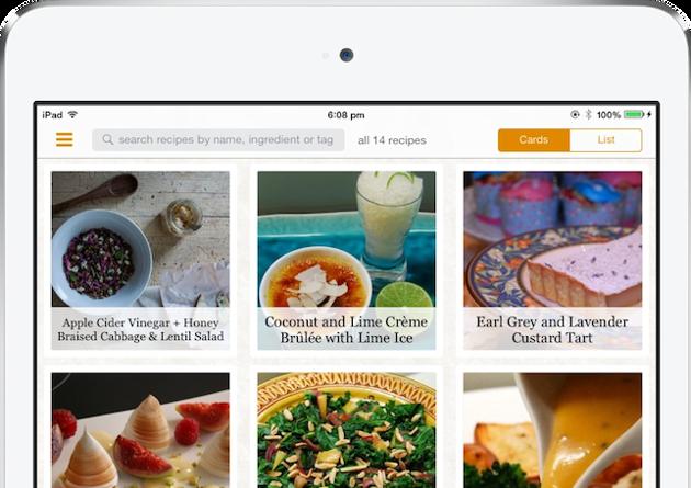 Zest — удобный менеджер рецептов для ваших лучших блюд