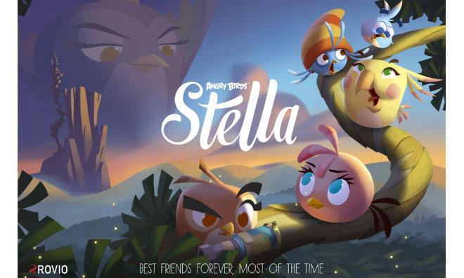 Официально: новая Angry Birds Stella выйдет этой осенью