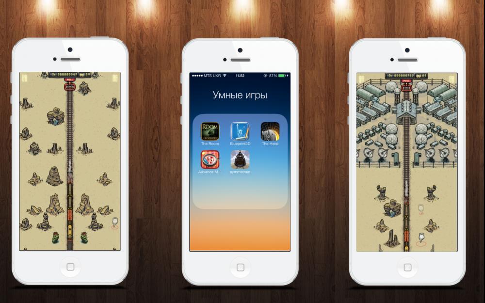Умные игры для iOS: The Room, Blueprint 3D, Symmetrain, Advance your memory, The Heist