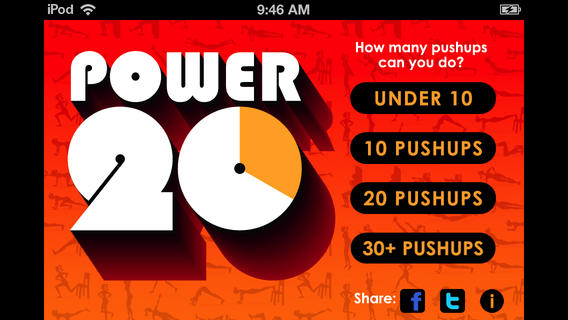 Power 20 Fitness Trainer  — карманный тренер по фитнесу для iOS и Android
