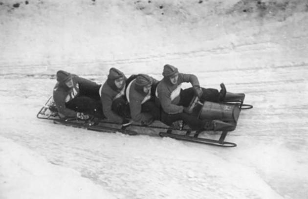 Oberhof, II. Wintersportmeisterschaften, Bobfahren