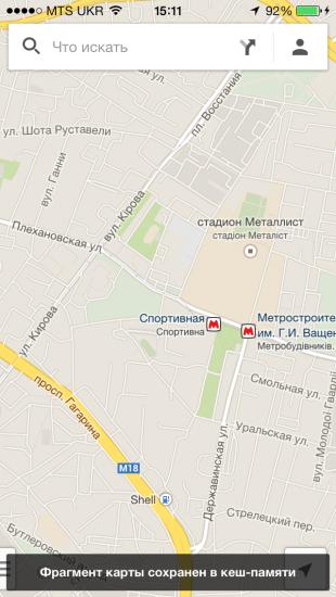 google maps: карта