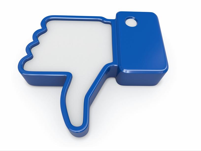 Как добавить кнопку Мне не нравится на Facebook
