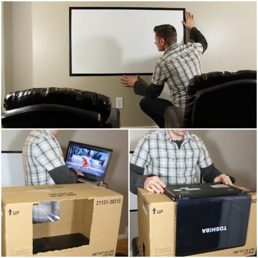 Короткофокусный проектор