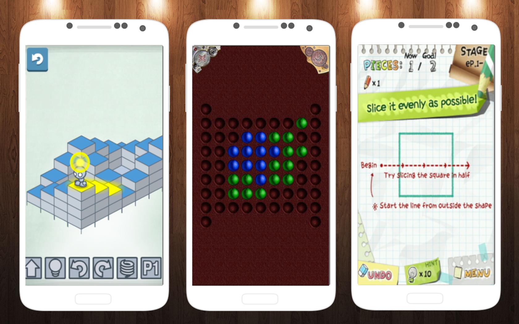 Умные игры для Android: Slice It!, Lightbot и Игры Разума