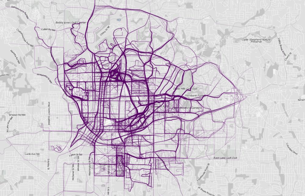 Где бегают люди в городах мира и как сделать такое для своего города