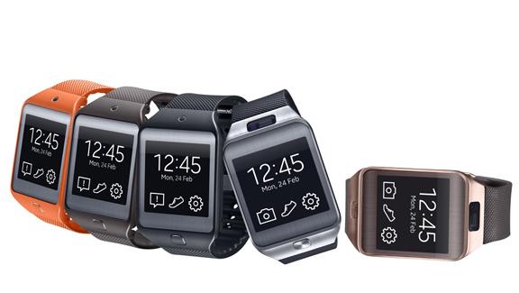 Samsung представила две новых модели «умных часов» Galaxy Gear