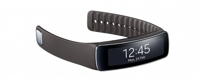Samsung представила фитнес-браслет Galaxy Fit с пульсометром и шагомером