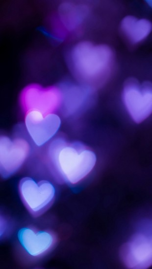 Heart-shaped-light-bokeh-iphone-5-wallpaper-ilikewallpaper_com