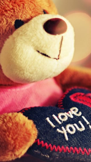 I-Love-You-Teddy-Bear-iphone-5-wallpaper-ilikewallpaper_com