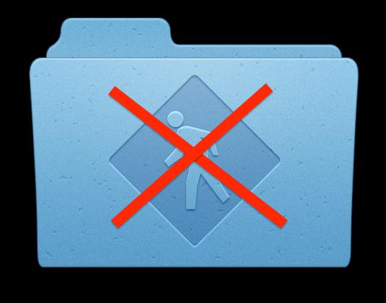 Как быстро отключить Общий доступ на Mac