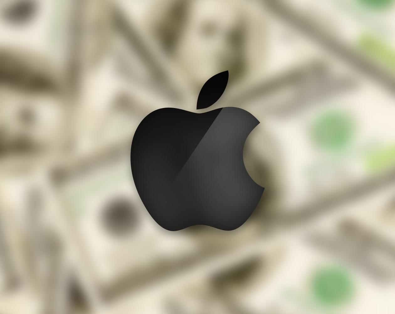 Динамика расходов Apple на разработки новых продуктов в 1995–2013 гг