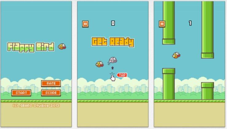 Популярнейшая игра Flappy Bird уходит из App Store