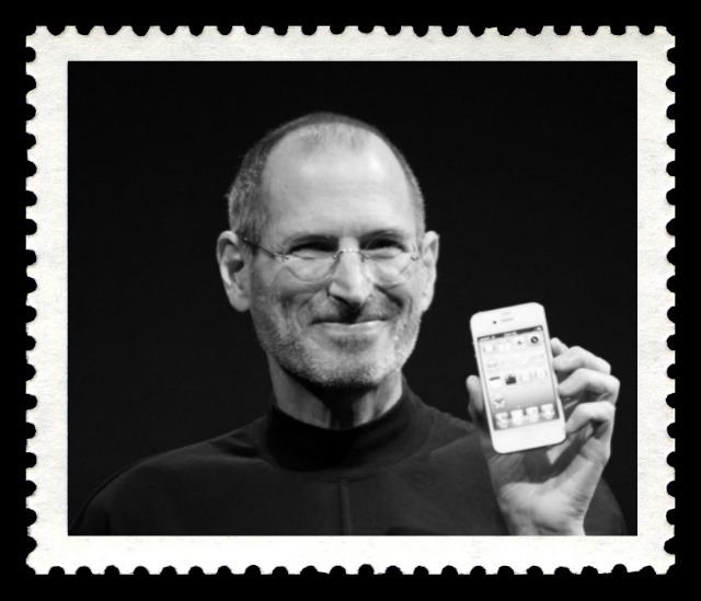 В 2015 году появятся коллекционные почтовые марки с изображением Джобса