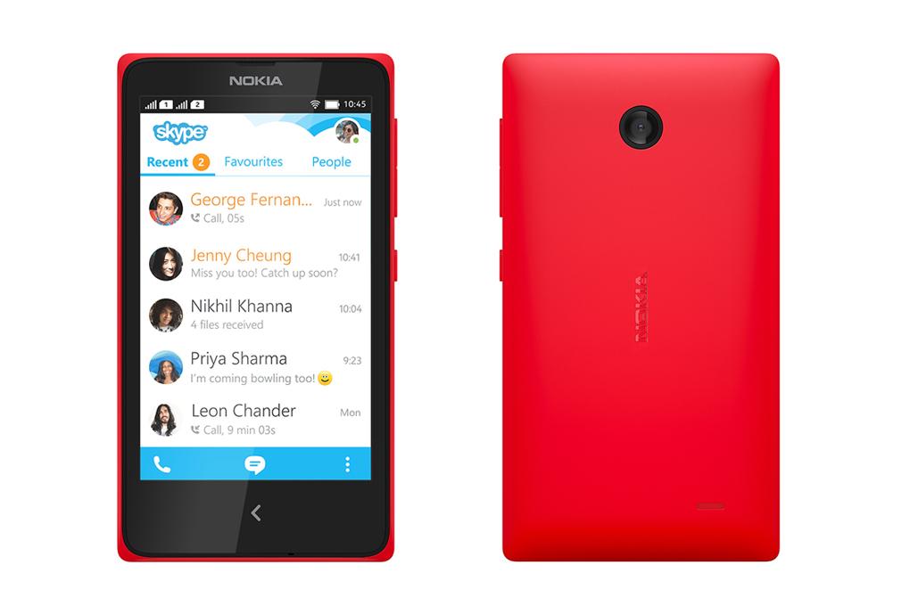 Nokia представила свои первые Android-смартфоны