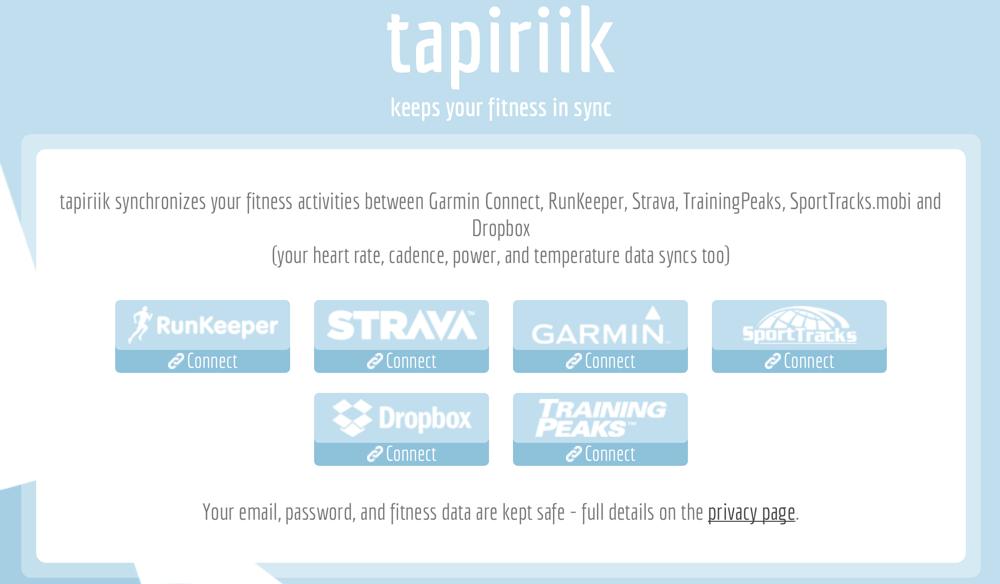 ♺ Как синхронизировать активности между RunKeeper, Garmin Connect, Strava и другими ♺