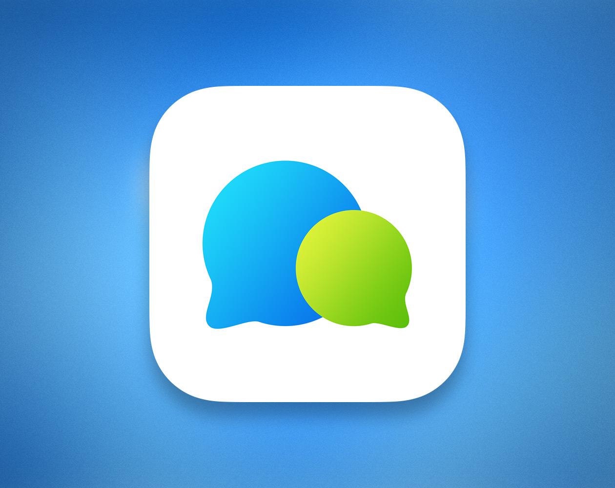 Bubble Chat: красивый Facebook-мессенджер для iPhone