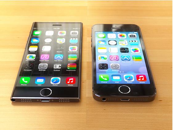 Интересный концепт iPhone 6 в стиле iPod Nano 7-го поколения