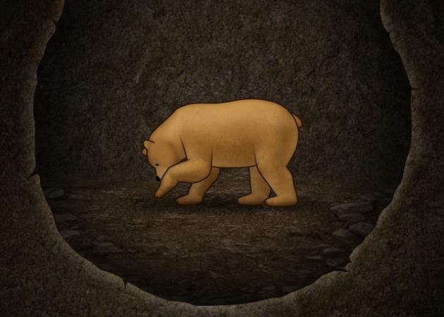 Мишка копает тоннель? Значит все работает ;)