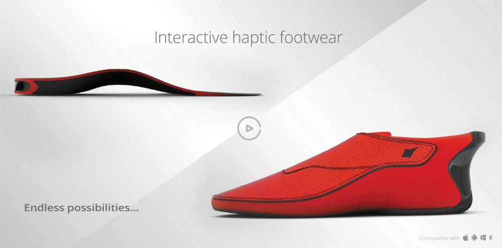 Le Chal: не просто фитнес-трекер, но и «умная» обувь для слабовидящих людей