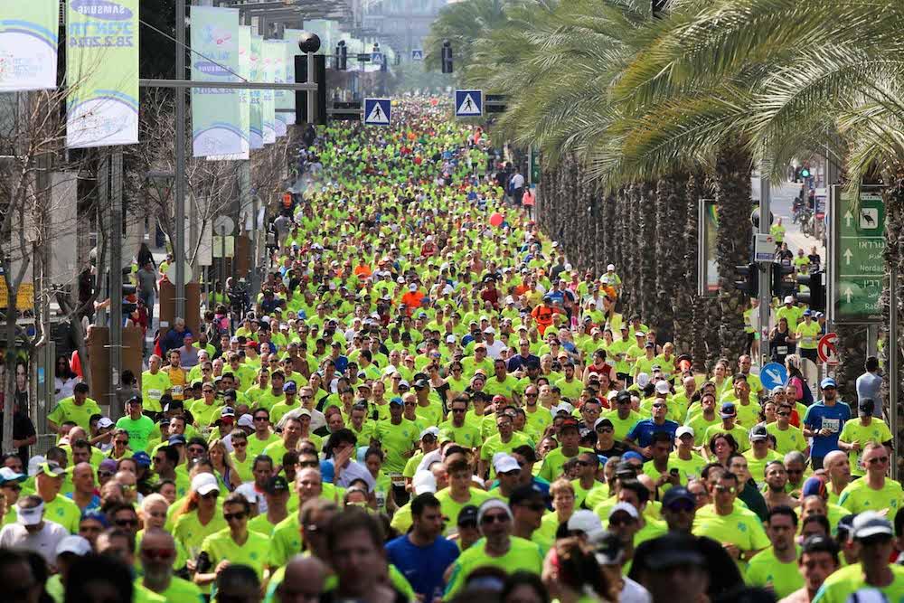 Обзор: Полумарафон в Тель-Авиве