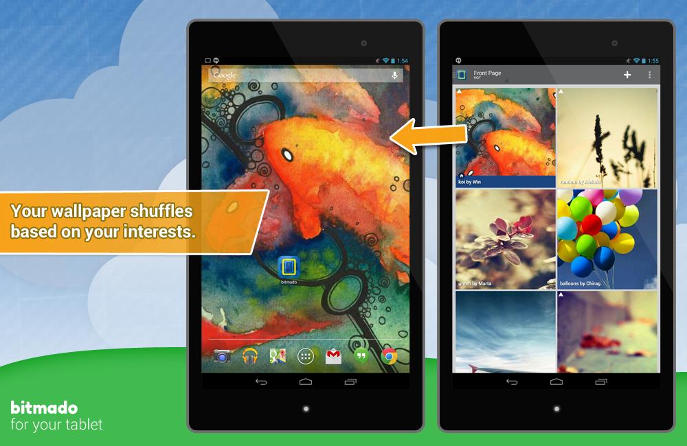 Bitmado — лучшие обои для Android