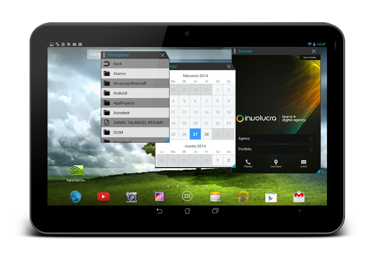Multitasking – оконный интерфейс и многозадачность для Android