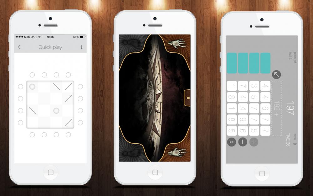 Умные игры для iOS: Papa Sangre II, digit, GetBuckets