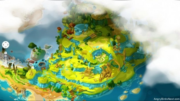 Angry Birds EPIC island