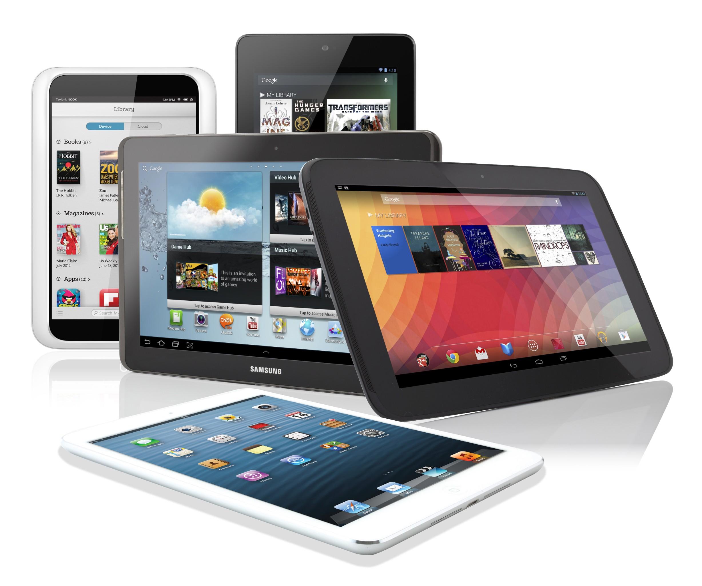 iPad потерял лидерство на рынке планшетов