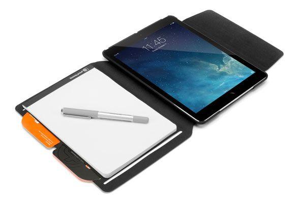 Чехол Booqpad для iPad: когда бумага и пиксели объединяются
