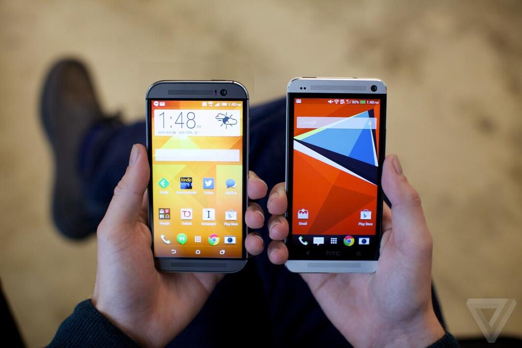 HTC One M8 and One