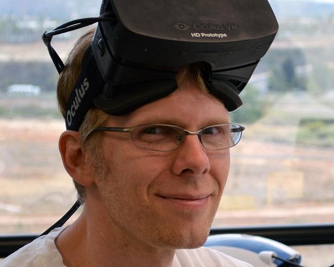 Oculus Rift founder