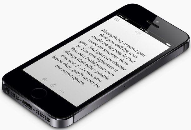 Приложение Quoth Steve на макете iPhone