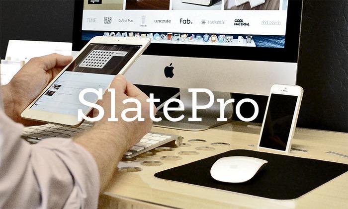 SlatePro — стол, который купил бы себе Стив Джобс