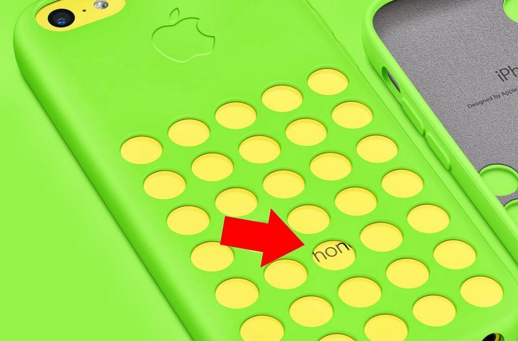 iPhone 5c провалился из-за плохих чехлов