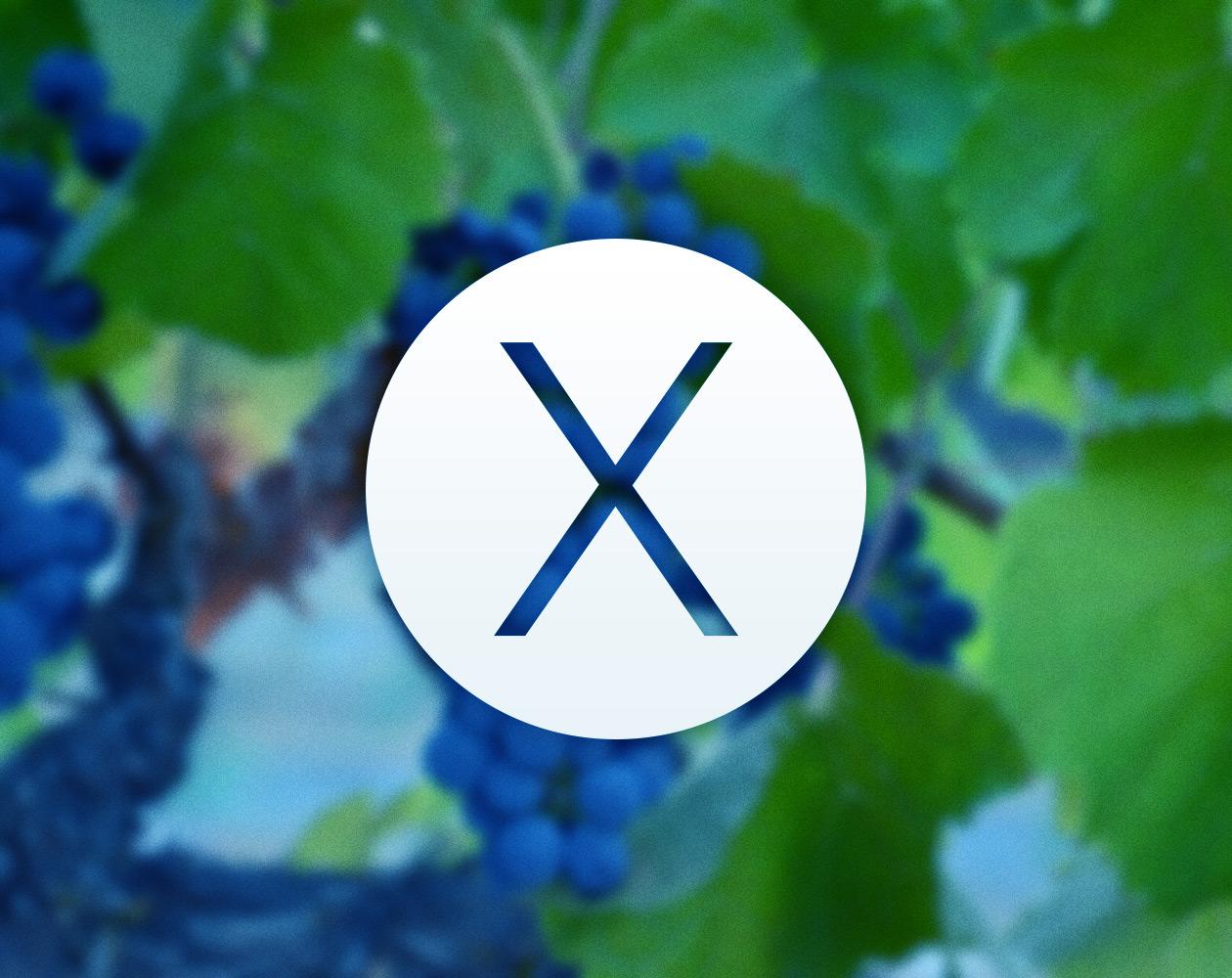 Знакомьтесь, OS X 10.10 Syrah (концепт-графика)