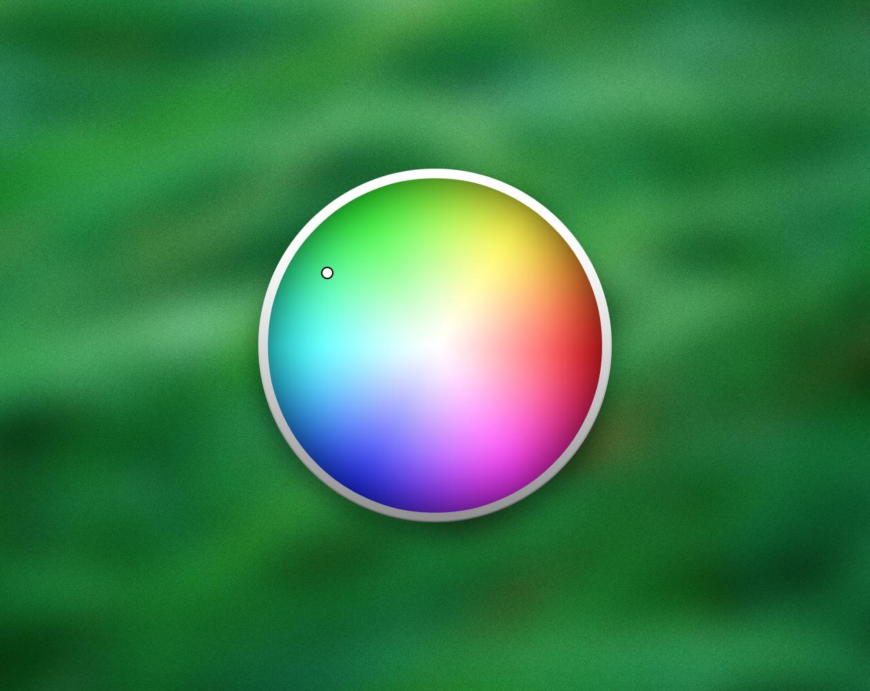 Окно выбора цвета OS X и картинки в качестве палитры цветов
