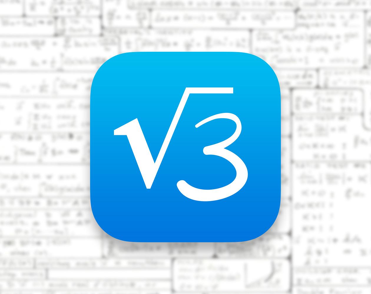 MyScript Calculator для iOS помогает производить вычисления с небывалой легкостью