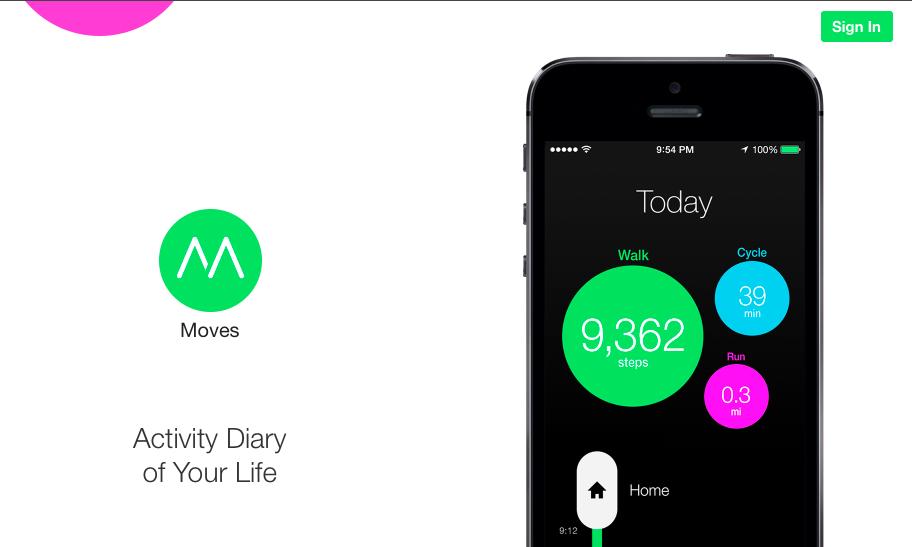 Facebook купила умный фитнес-трекер для мобильных устройств Moves