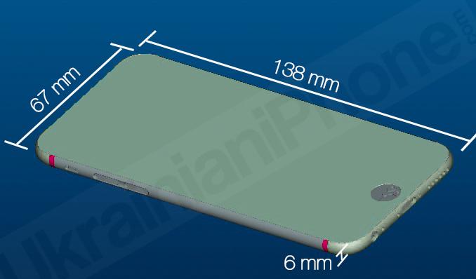 Производители аксессуаров раскрыли спецификации iPhone 6