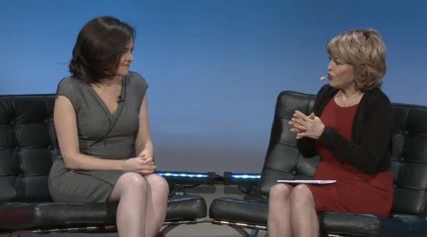 ВИДЕО: Шерил Сандберг о своей книге, о сложностях и их решении