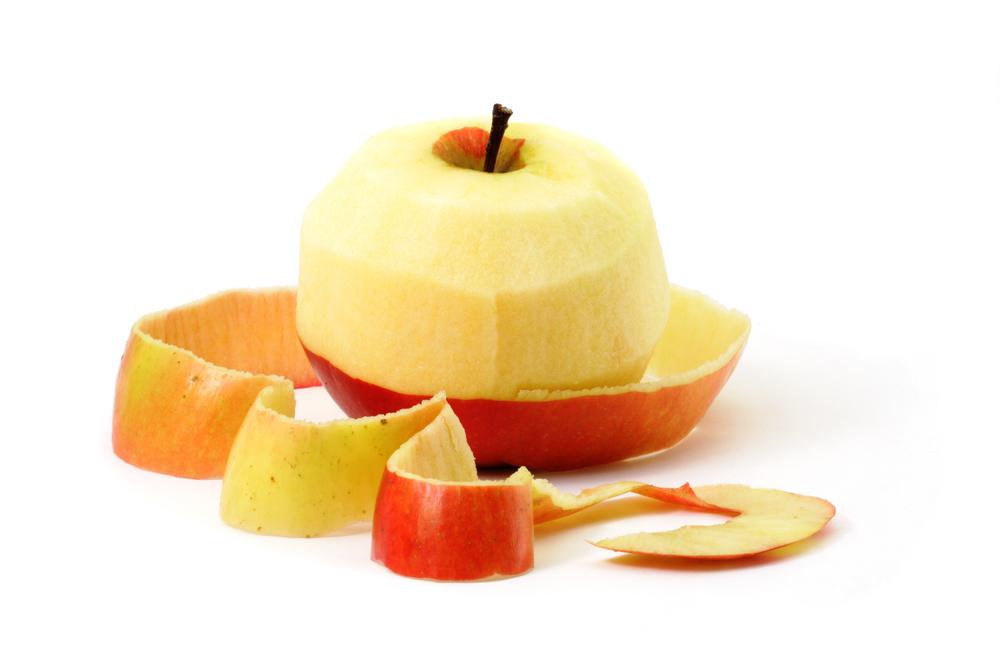 Быстрая очистка яблок в «промышленных» масштабах (видео)