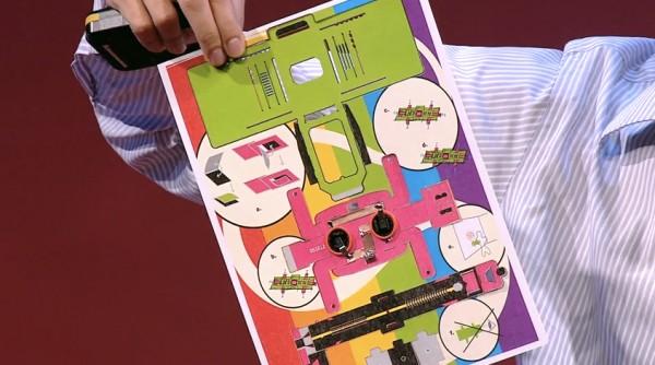ВИДЕО: Микроскоп из бумаги