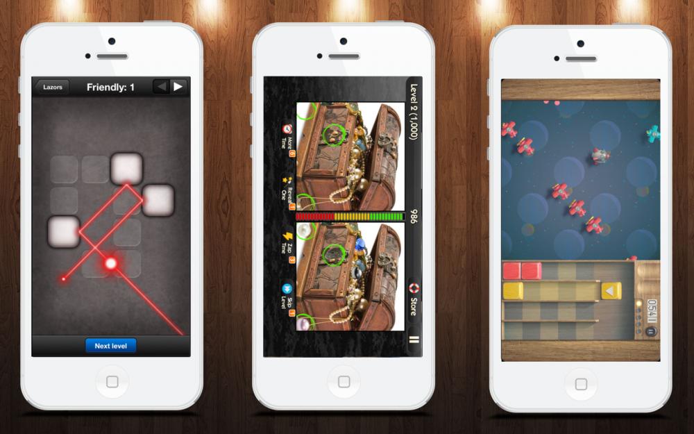 Умные игры для iOS: What Diff?, Lazors, Toybox